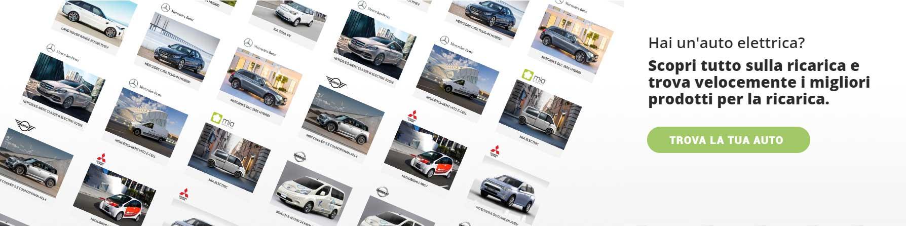 Prodotti per la ricarica dei veicoli elettrici
